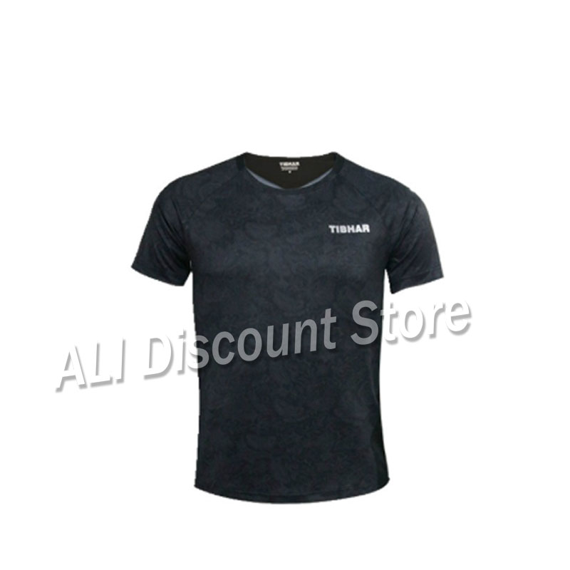 Jersey Table-Tennis TIBHAR T-Shirts Ping-Pong-Cloth Men Sportswear Group Purchase Training title=