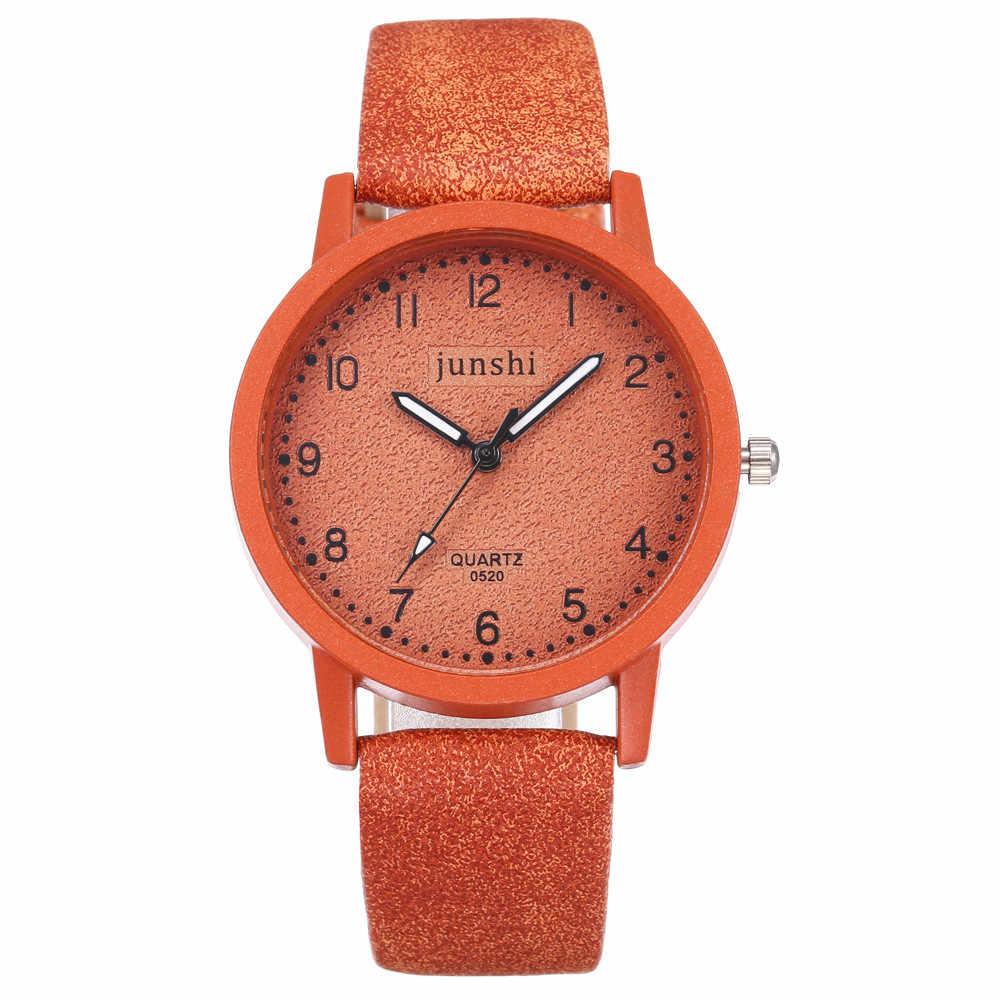 Montre à Quartz femme haut de gamme étanche distingué femmes montre bracelet en métal robe horloge montre en cuir alliage dames montre #10