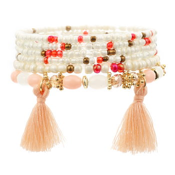 Women's Boho Style Stone Charm Bracelet Bracelets Jewelry New Arrivals Women Jewelry Metal Color: SL1518