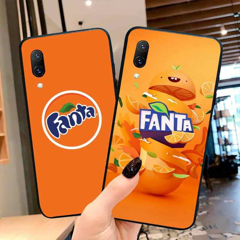 Fanta Drink Orange Phone Case Cover For Vivo Y91c Y17 Y51 Y67 Y55 Y7s Y81S Y19 V17 vivos5