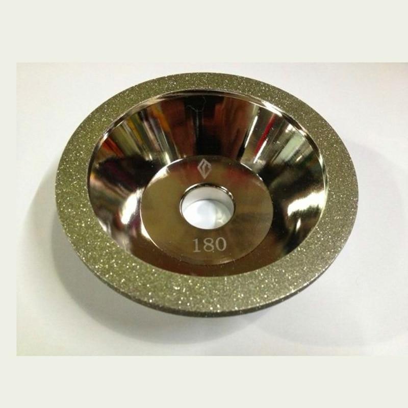 Lama cu unelte de 100mm cu diamant cbn pentru șlefuit la preț bun - Instrumente abrazive - Fotografie 5