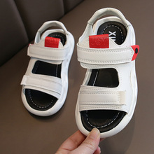 Boys Sandals Children's Shoes Summer Sandals Baby Flat Children Beach Shoes Kids Sports Soft Non-slip Casual Toddler Sandals ulknn summer baby girls boys sandals children beach sandals soft bottom non slip infant shoes kids outdoor sport shoes