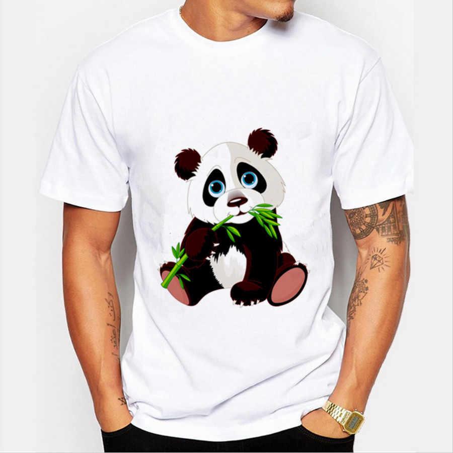 2020 verão t camisas masculinas streetwear panda impresso camisetas gráficas camisetas masculinas camisetas casuais vintage engraçado