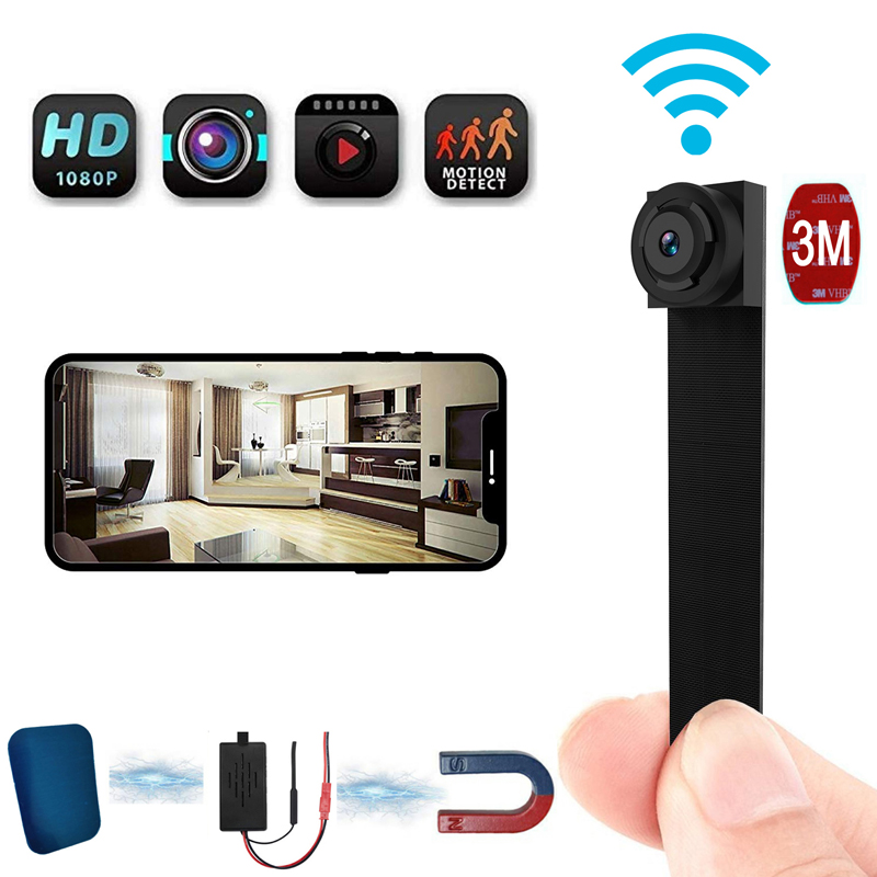 1080P Full HD Mini WIFI Flexible Camera 90 Degree 4K APP Ultra Video Audio Recorder Motion Detection Camcorder Ip Camera IP P2P