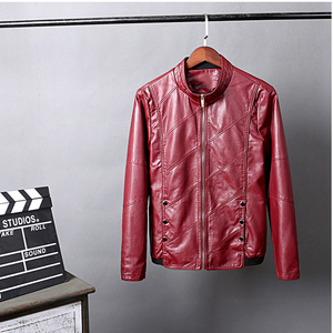 Image 3 - HCXY 2019 Mens Motorcycle Leather Jackets Men Autumn PU Leather Clothing Men Leather Jacket Male Business Upscale casual Coats
