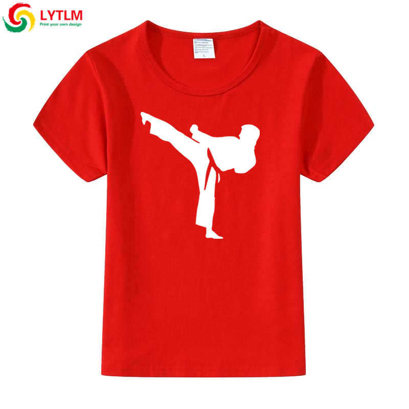 LYTLM Cartoon T-shirt Kyokushin Karate Oyama Baby T Shirts Baby Boy Zomer Kleding Shotokan Karate Tshirt XXX Kinderen Poleras