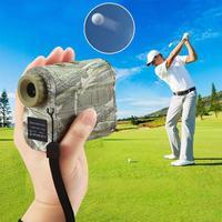 600M Golf Laser Rangefinder Mini Golf Slope Adjusted Mode Sport Laser Distance Meter Rangefinder for Hunting