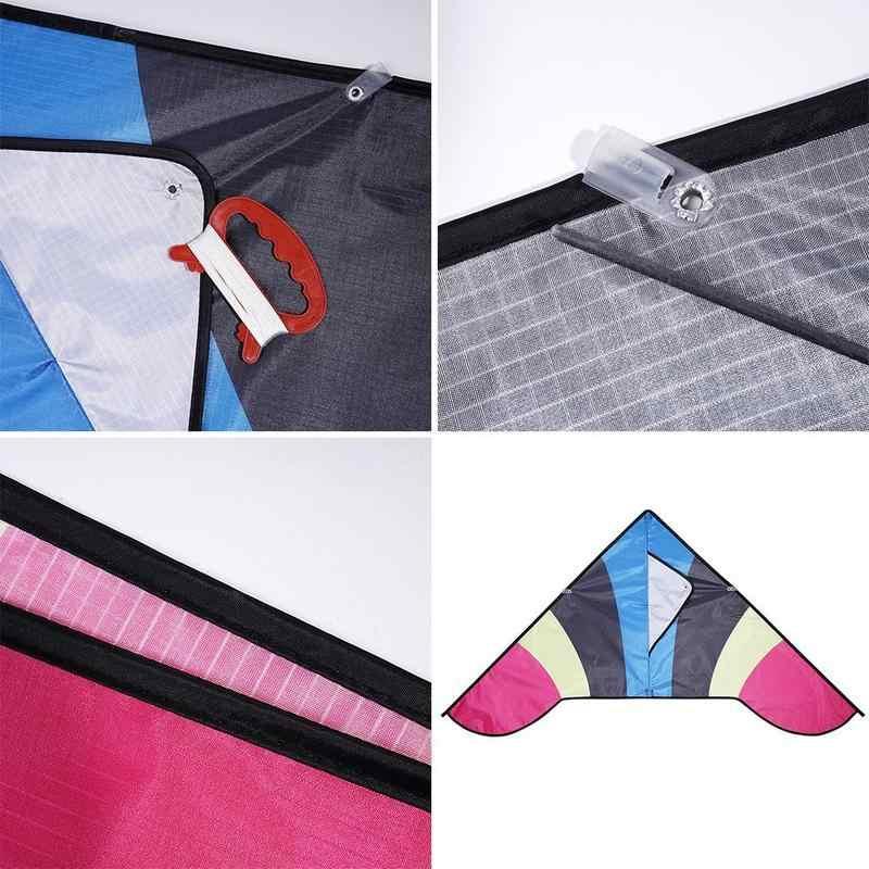 Coloeful Kite Lange Staart Polyester Outdoor Vliegers Vliegen Speelgoed Voor Kinderen Kids Stunt Surf Kite Met Controle Bar En Lijn