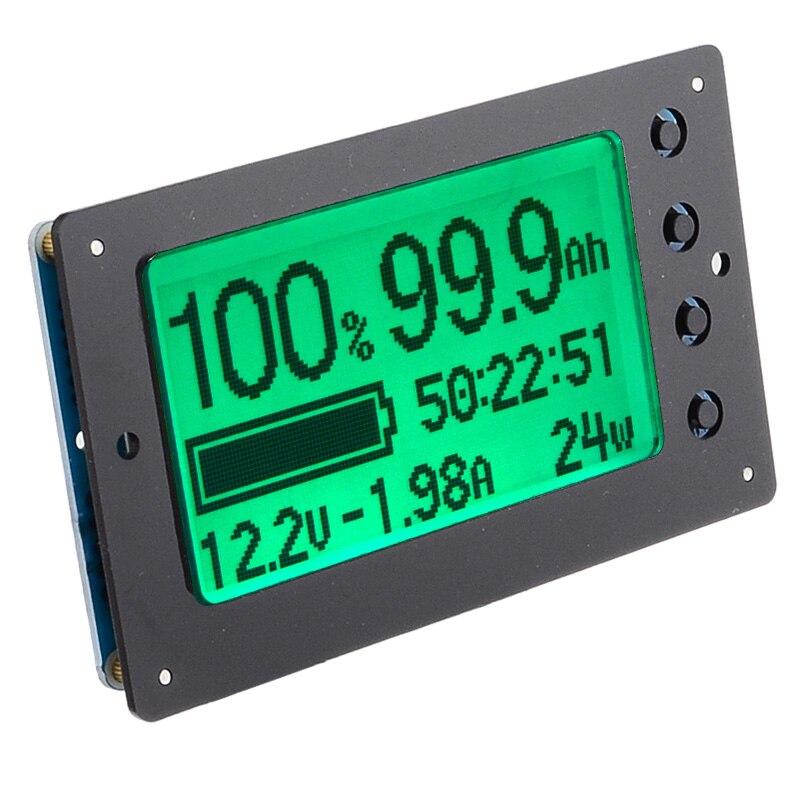 Лидер продаж TF03 100 в 500A универсальный тестер емкости батареи индикатор напряжения тока панель кулонометр - 4