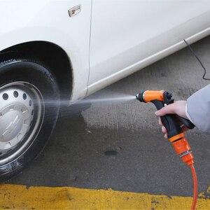 Image 2 - 12V Rondella Dellautomobile Portatile della Pompa Pistola A Spruzzo Ad Alta Pressione di Lavaggio Auto Macchina di pulizia Kit Per La Cura di Lavaggio Auto Auto dispositivo elettrico