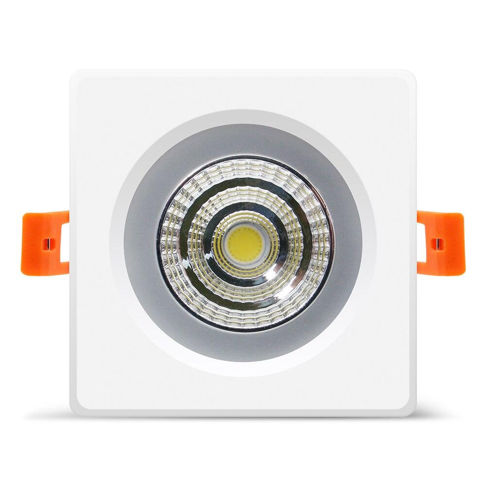 água recesso led cob downlight smd5730 5