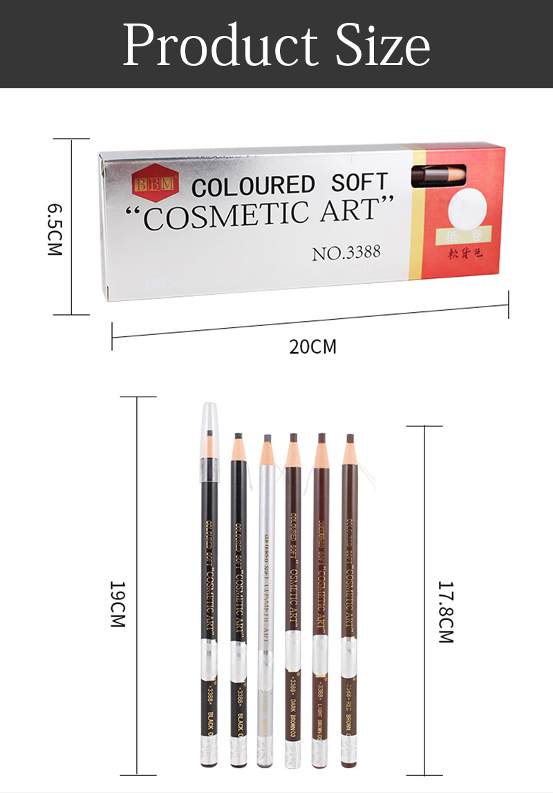 Microblading sobrancelha lápis à prova dwaterproof água