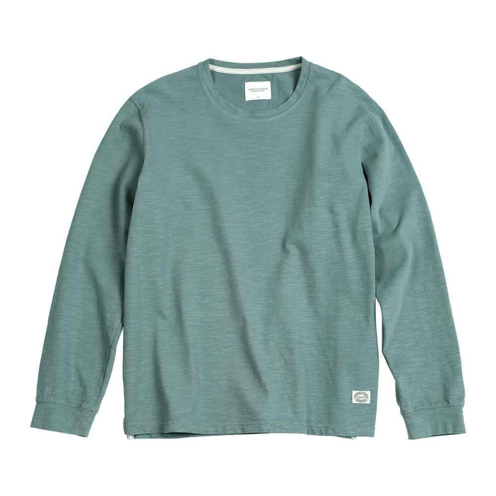 Simwood 2020 Musim Semi Baru Melange T-shirt Pria Atasan Padat Kapas Jersey O-Leher T Shirt Kualitas Tinggi Plus Ukuran Tee SJ170114