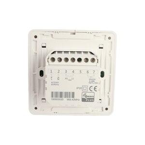 Image 2 - Haozee Z Wave Plus termostat sterowanie ogrzewaniem podłogowym bezprzewodowy elektryczny system grzewczy inteligentna automatyka domowa