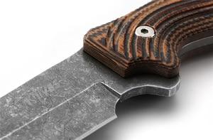 Image 5 - 8CR13MOV פלדת ציד סכין זיוף חד טקטי ישר סכין עור מקרי SelfDefense Survial טיפוס רכיבה קמפינג