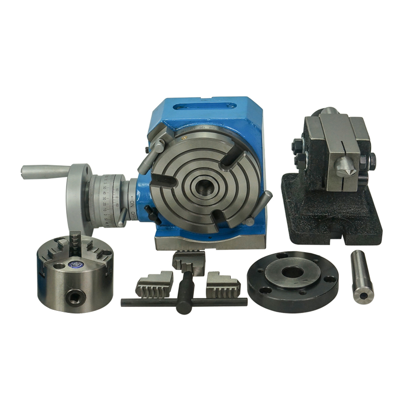 Universal Dividing Head Precision Tailstock 3-Jaw Lathe Chuck Dividing Plates CNC Milling Head Tail Stock CNC Rotary Axis