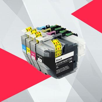 LC3219 LC3219XL pojemnik z tuszem dla brata 3219 3217 MFC-J5330DW J5335DW J5730DW J5930DW J6530DW J6935DW 3219xl lc3217 lc3217xl tanie i dobre opinie LISM Pełna LC3219 LC3217 Kompatybilny brother Wkład atramentowy