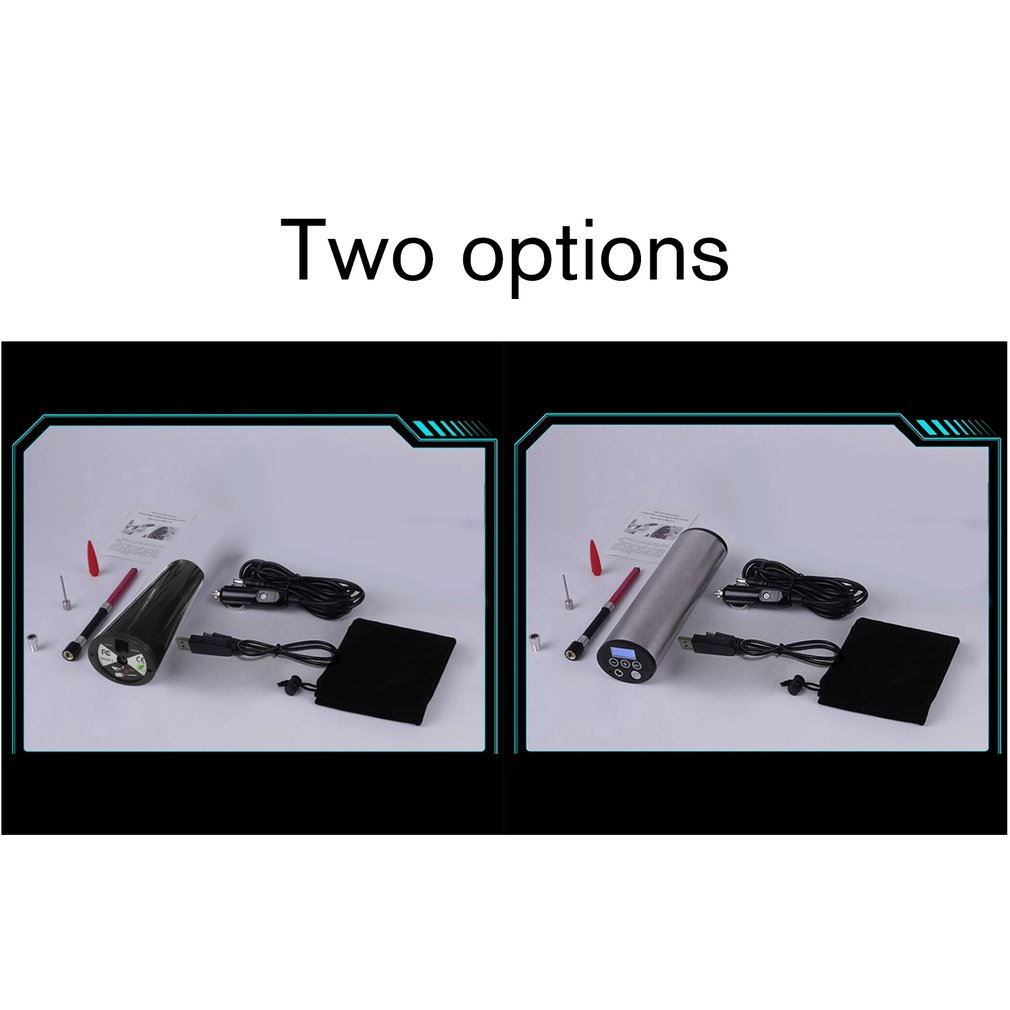 Smart USB Wireless Digital LED Car Air Compressor Pump Handheld Auto Bicycle Tire Inflator Electric Air Pump