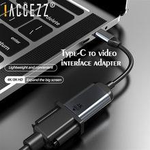 ! accezz usb c к vga/mini dp hdmi совместимый адаптер для macbook
