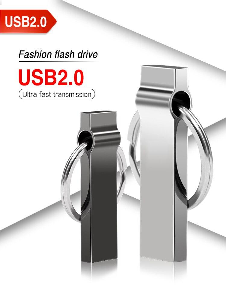 K4 Ring Key Usb Flash 64gb Pen Drive Usb 2,0 Flash 32 Gb Flash Drive 128gb Pendrive 16gb Flash Memory 8gb Funny Gift Menoria Usb