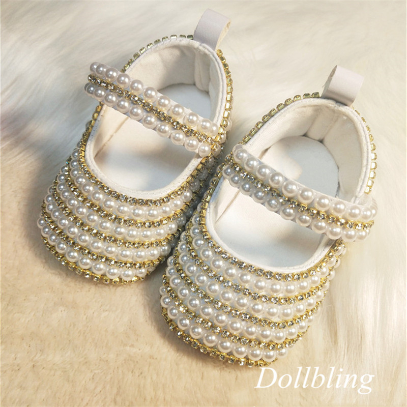 Dollbling Egypt Queen Inspired Golden Crystal Pearls Baby Shoes 1st Bithday Show Newborn Photo Dress Botties Etsy Vintage Shoes