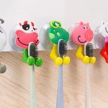 Ванная комната аксессуары зубная щетка держатель вешалка настенная навесная зубная щетка вешалка присоска чашка антибактериальный зуб щетка крючки набор