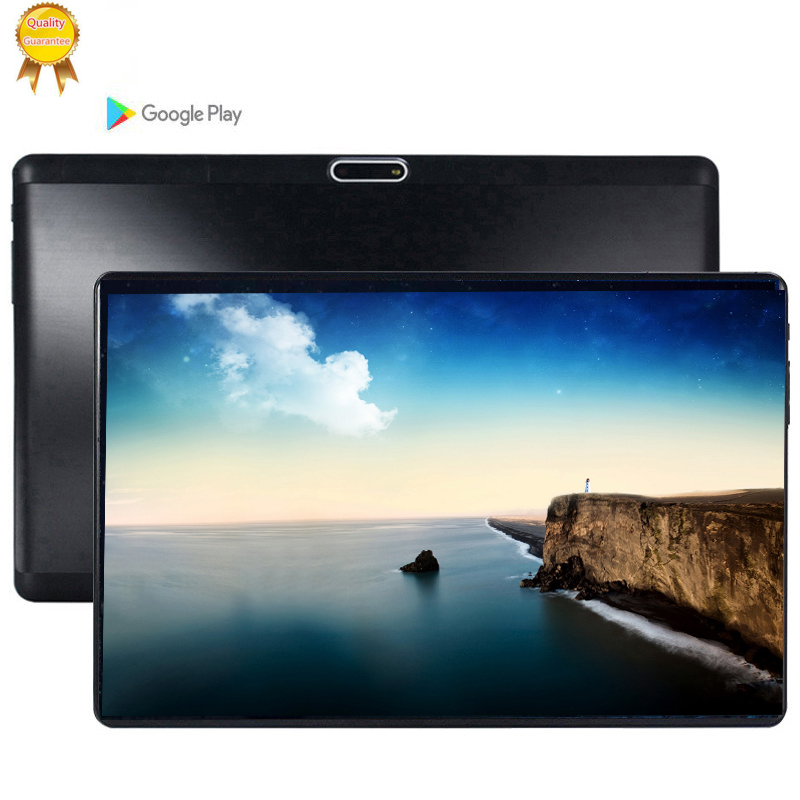 S119 2.5D IPS Tablet PC 3G Android 9.0 Octa Core Google Play The Tablets 6GB RAM + 128GB ROM WiFi GPS 10' Tablet Steel Screen