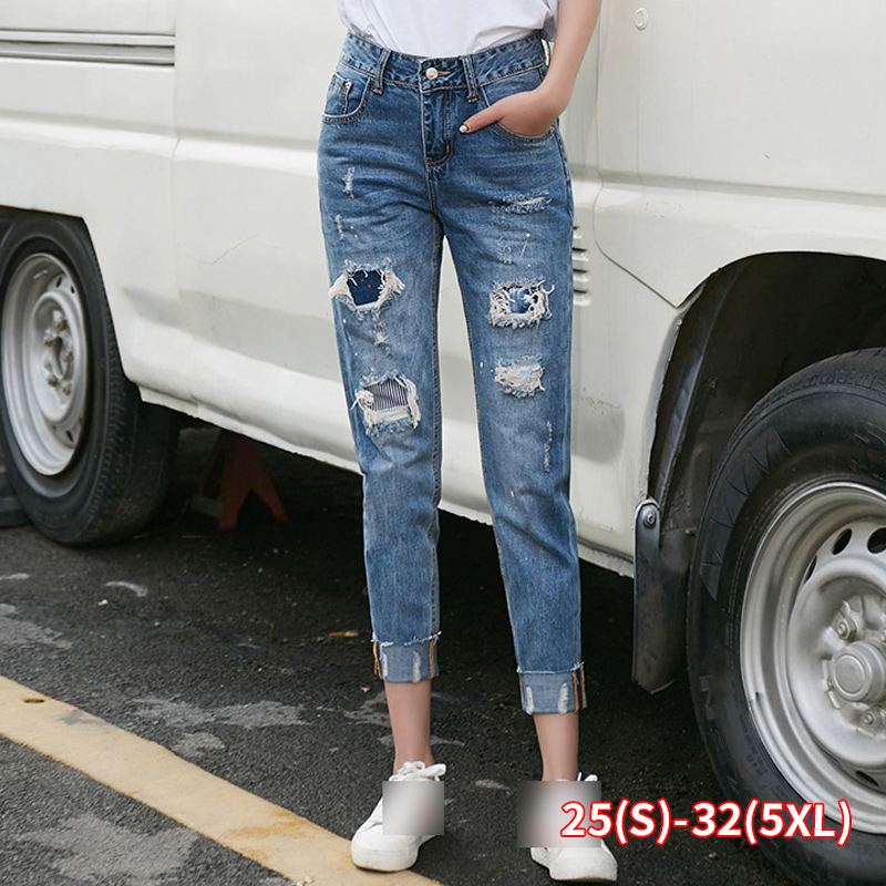 2020 New Spring Summer Autumn Hot Selling Women's Jeans Fashion Casual Denim Pants Dropshipping