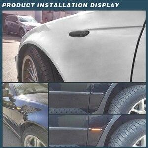 Image 5 - 2pcs Smoke LED Side Marker Light Flowing Water Indicator Turn Signal Lights For BMW E90 E91 E92 E93 E60 E87 E82 E61 Error Free