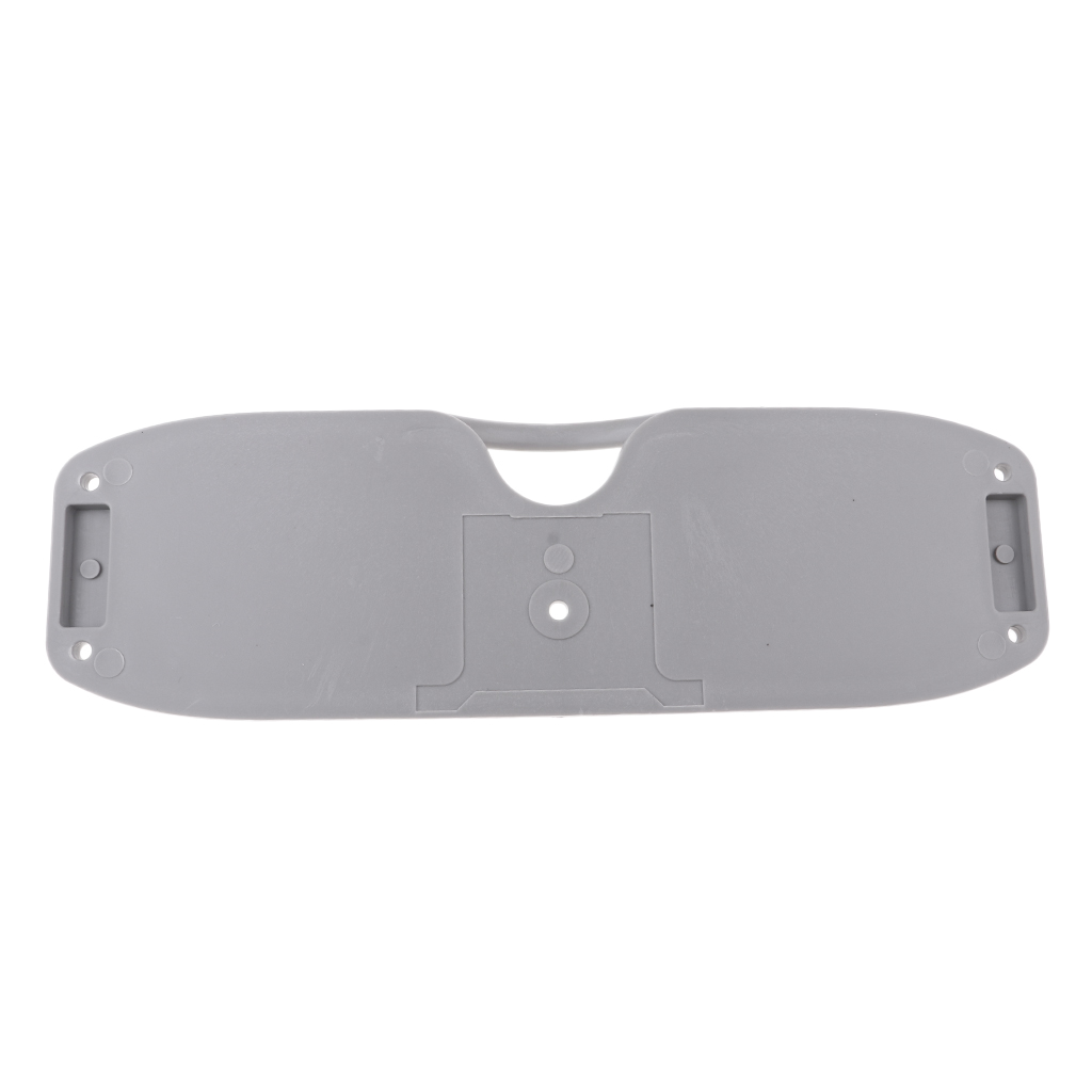 Durable Fishing Boat Transom Plate Tail Mirror Engine Mount For Inflatable Boat Gray