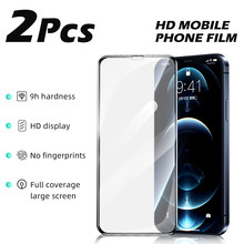 Screen Protector For iphone X XS XR Full Cover Glass on the For iPhone 11 Pro Max 12 Mini Smartphone Tempered Protective Glass