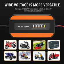 Широкий Напряжение пользовательские Мотоциклетные батареи Зарядное