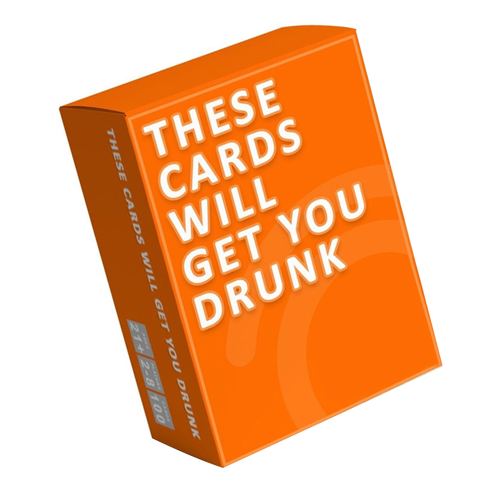 Drinking Beer Night Gathering Hen Buzzed Supplies Adults Play Party Entertainment Tipsy Fun Bar Evening Game Cards