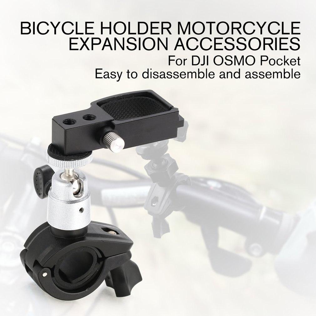 Handheld cardan estabilizador universal suporte de montagem da bicicleta braçadeira suporte suporte stander clipe para dji osmo bolso acessórios