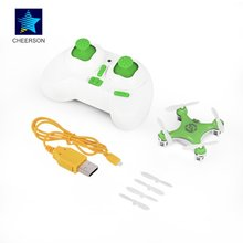 RC Quadcopter 4CH 2.4GHz Headless Mode Drone Green for Cheerson CX-10 Exquisitely Designed Durable cheerson cx 10w quadcopter
