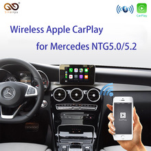 Sinairyu Wireless Apple Carplay per Mercedes A B C E G CLA GLA GLC classe S Car play Android Auto/Mirroring 2015-2019 NTG5 W205