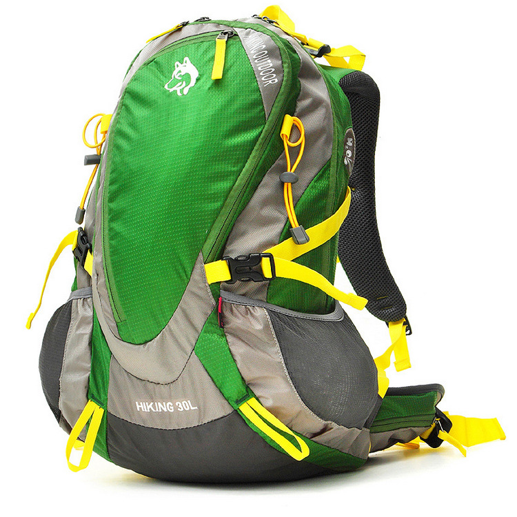 Malamute Outdoor Mountaineering Bag 30L Nylon Waterproof Duffel Bag 3-Color With Rain Cover Currently Available Supply