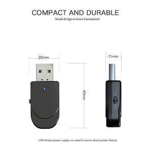 Image 2 - 3 In 1 Mini Bluetooth 5.0 Audio ontvanger Zender 3.5 Mm Jack Aux Usb Stereo Music Draadloze Adapter Voor Tv auto Pc Hoofdtelefoon