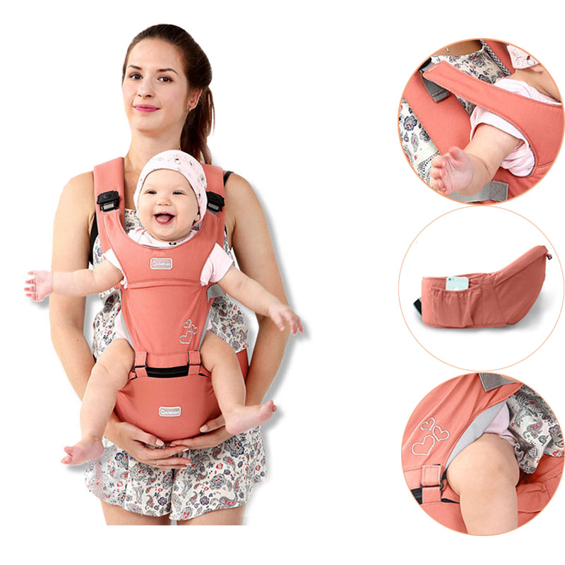 Baby Carrier Hipseat Waist Stool Walkers Ergonomic Kangaroo Baby Sling Wrap Suspenders Backpack Prevent O type Leg 0 36 Months-in Backpacks & Carriers from Mother & Kids on AliExpress