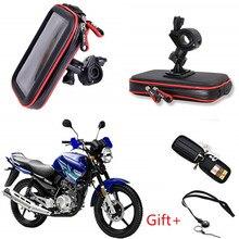 Водонепроницаемый велосипедный телефон сумка руль велосипеда поддержка мото крепление слоты для карт GPS для мотоцикла сумка-держатель для телефона держатель