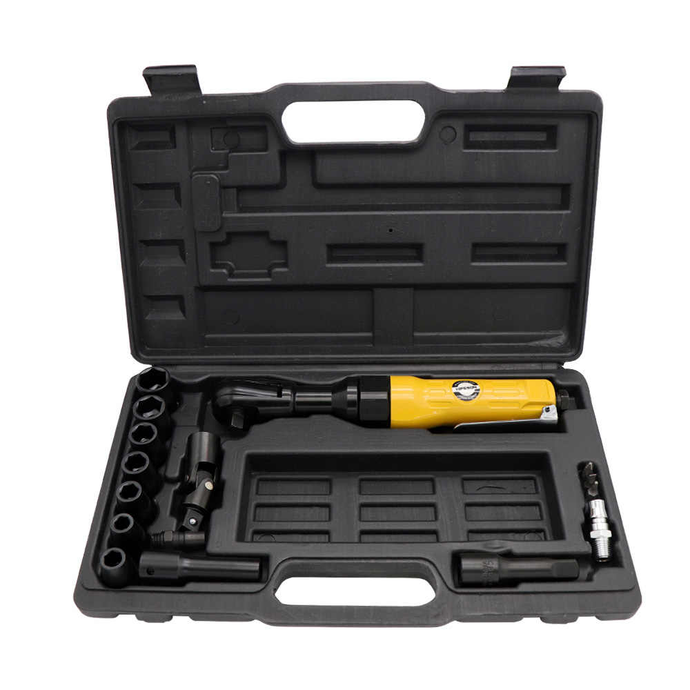 """Chave pneumática de catraca de ar, ajuste de torque, chave de alavanca, ferramenta profissional de haste reta, 1/2 """"3/8"""""""