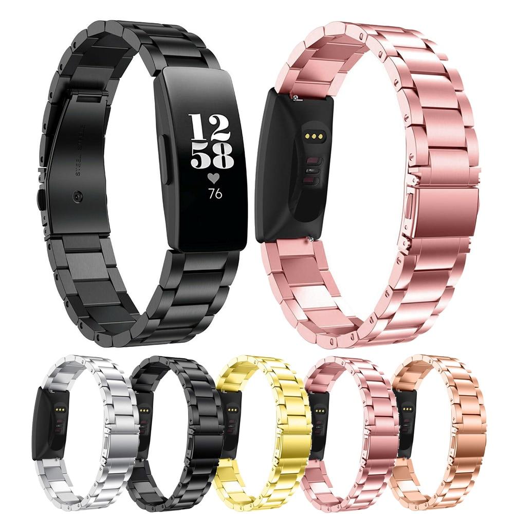 Essidi Stainless Steel Watch Strap For Fitbit Inspire Inspire HR Smart Bracelet Metal Wrist Strap Loop For Fitbit Inspire HR
