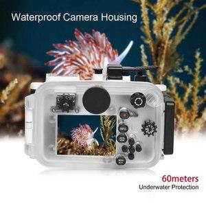 Image 5 - البحر الضفادع كاميرا للماء الإسكان الغوص حالة واقية قذيفة تحت الماء 60m/195ft استبدال لأوليمبوس TG 6 كاميرا