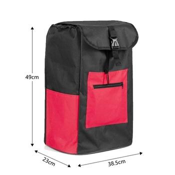 Torby na zakupy na wózek na zakupy torby na zakupy torby kobieta kosz na zakupy torby na zakupy na artykuły spożywcze torby na kółkach torebka na rynek tanie i dobre opinie CN (pochodzenie) Oxford WOMEN Stałe Na co dzień