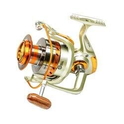 Europa hot-sprzedaży 12BB 5.5 : 1 Metal Spinning Sea składana rączka kołowrotek EF1000- 9000 łożysko aluminium Yumoshi