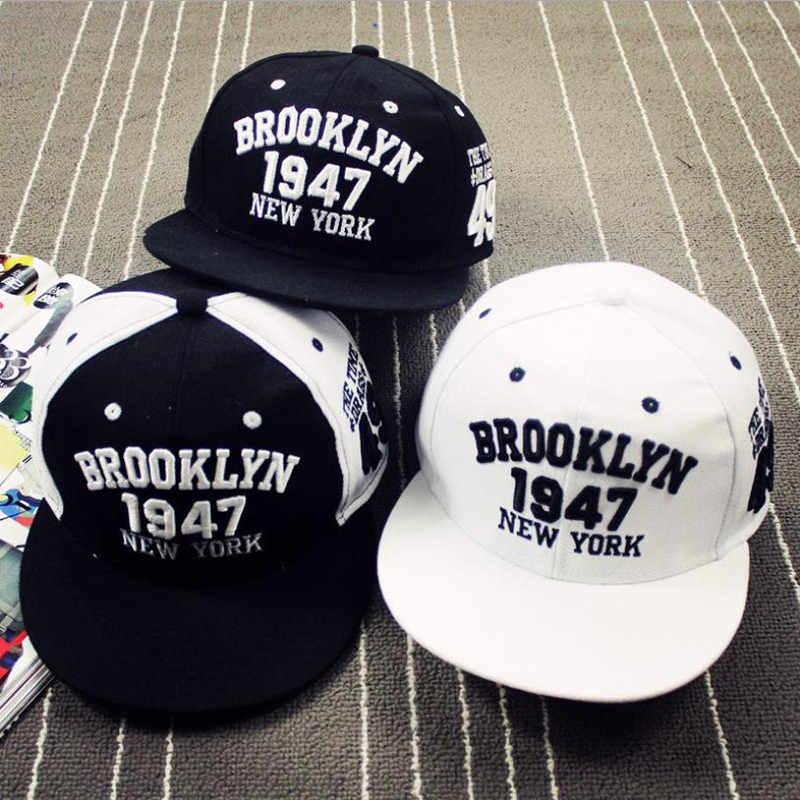 Fashion1947 Brooklyn Style Baseball Cap Snapback Cap Hip Hop Hats Snapbacks fq