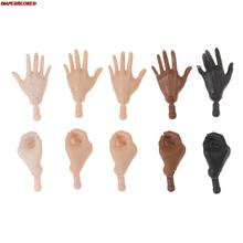 Oryginalne lalki Babi wymiana rąk stopy DIY montaż akcesoria dla lalek brązowy beżowy czarny Big Click 1 6 rozmiar części lalki tanie i dobre opinie DIAPER CORED 4-6y 7-12y 12 + y 18 + CN (pochodzenie) doll hands Film i telewizja FASHION DOLL not for within 3 years 2-3cm