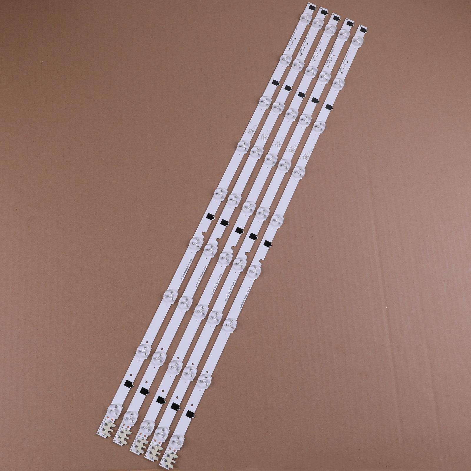 """5 teile/satz 9LEDS 650MM Neue Led-hintergrundbeleuchtung Streifen Für Samsung 32 """"TV D2GE-320SC0-R3 2013SVS32H 2013SVS32F CY-HF320GEV5H"""