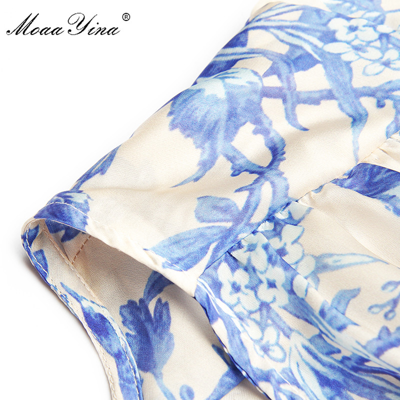 Image 5 - MoaaYina Fashion Designer Runway dress Spring Autumn Womens 