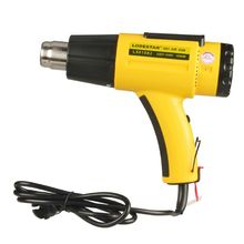 Heat Gun 220V 1600W Adjustable Temperature US Plug with Nozz
